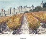 Carcassonne Illustration