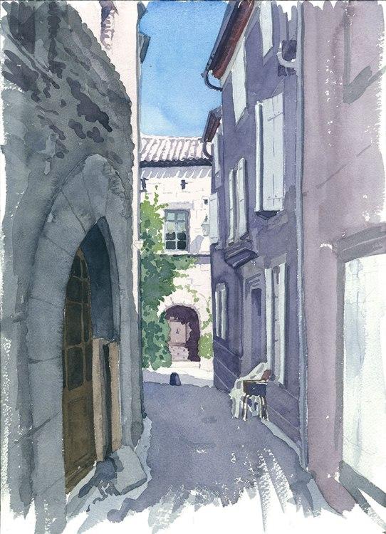 Caunes Streetscene