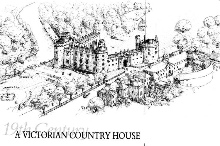 Kilkenny Castle Booklet Illustration
