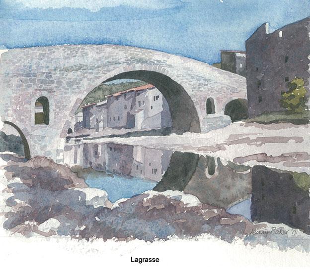 Lagrasse Landscape