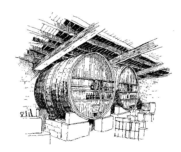 Wooden Foudres Illustration